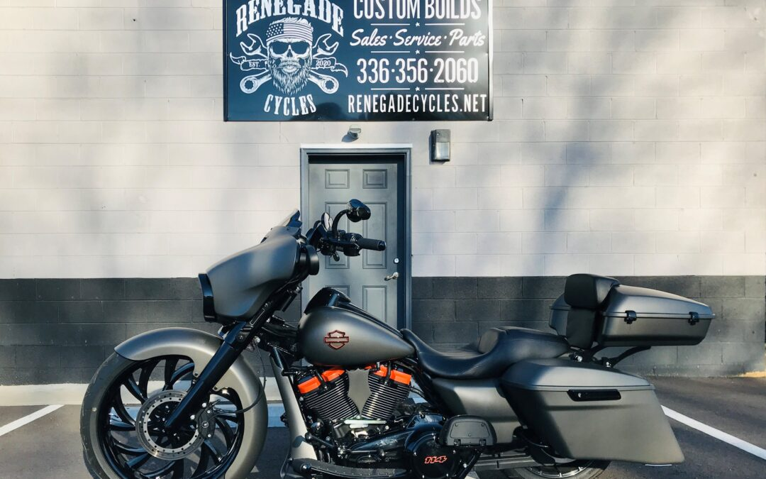 2017 Harley Davidson STREET GLIDE                       (a renegade Cycle's Own Custom Build!)